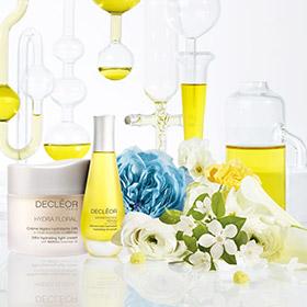 Une gamme de soin naturel pour le visage à base d'huiles essentielles.